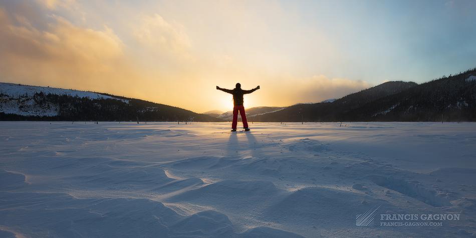 L\'hiver dans le Parc National des Grands-Jardins - w w w ...