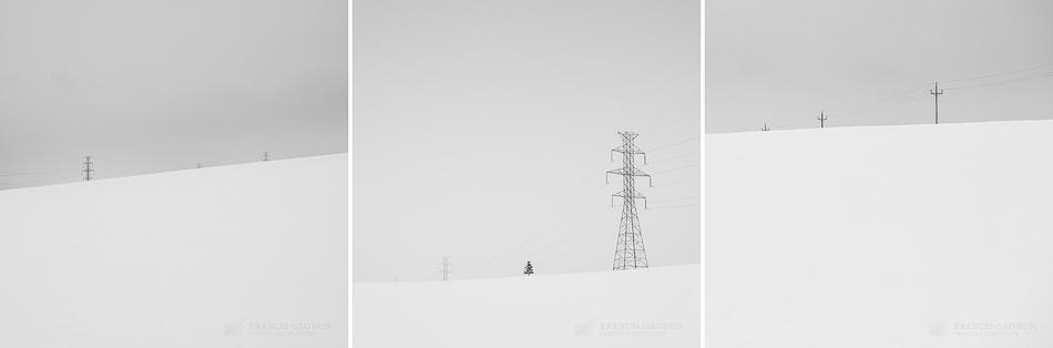 """Extrait d'une série intitulée """"Rural"""" est disponible à cette adresse : http://francis-gagnon.com/2014/04/13/rural-des-photographies-minimales-de-la-campagne-charlevoisienne/"""