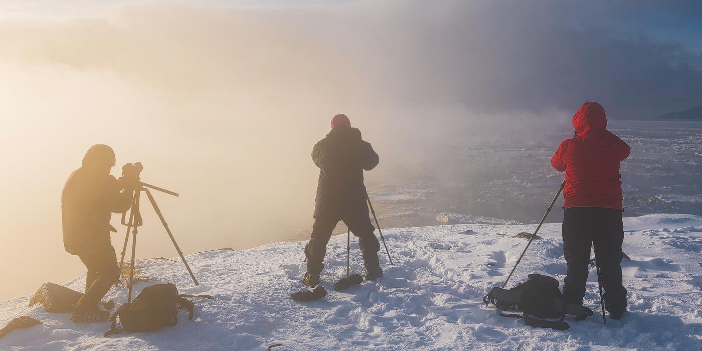 Charlevoix, entre mer de glace et montagnes enneigées – Retour sur l'excursion photographique du 10, 11 et 12 février 2017