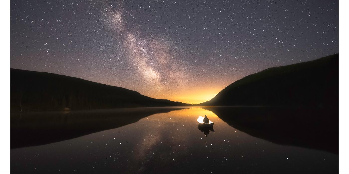 étoile, voie lactée, photo, règle 500