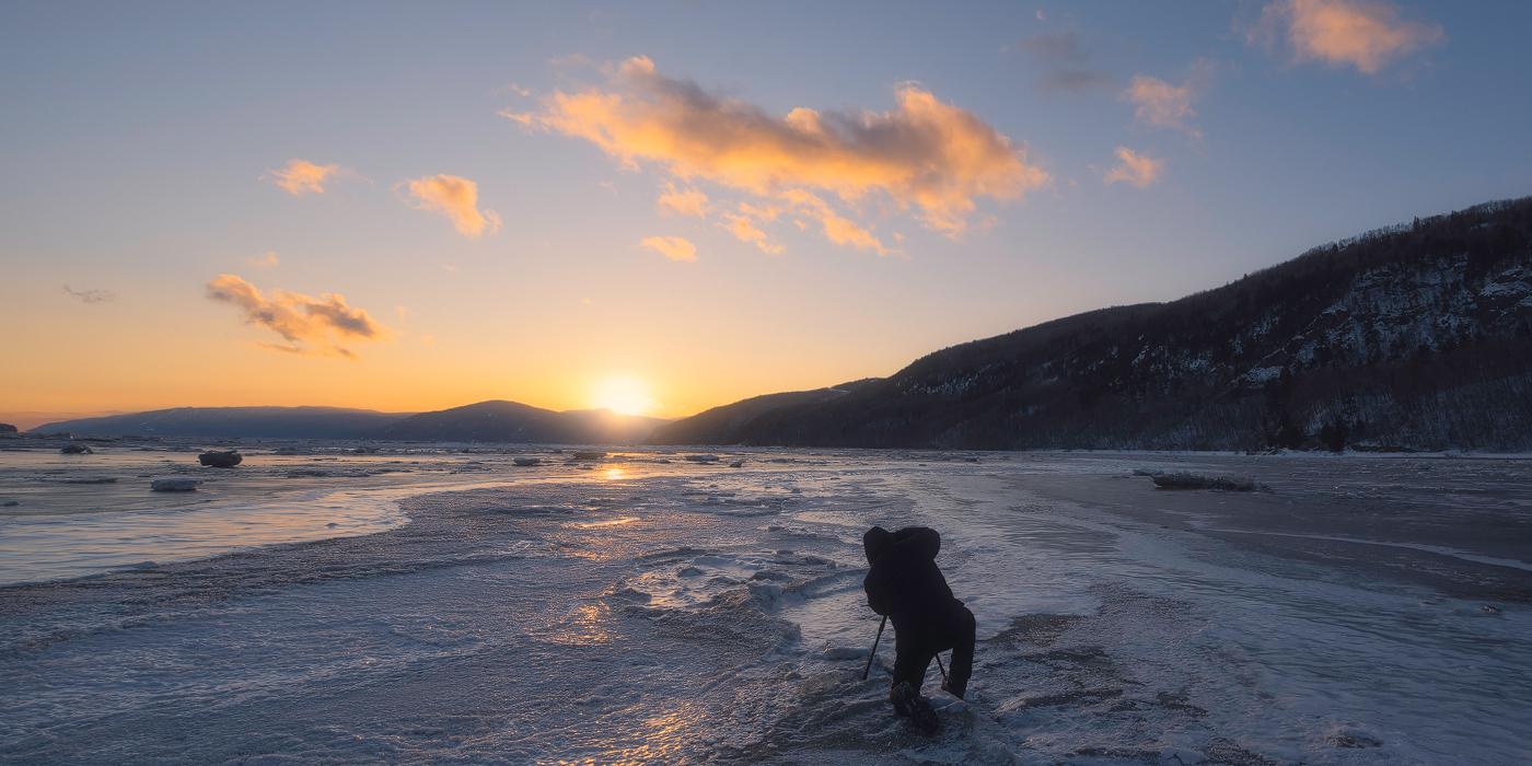 Glace et neige : découvrez Charlevoix en hiver ! – Retour sur l'excursion photographique du 03 février 2018