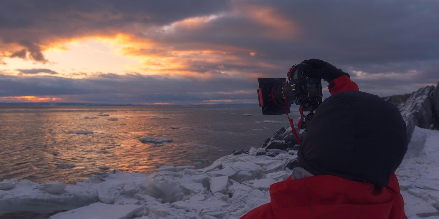 Charlevoix, entre mer de glace et montagnes enneigées – Retour sur l'excursion photographique février 2018