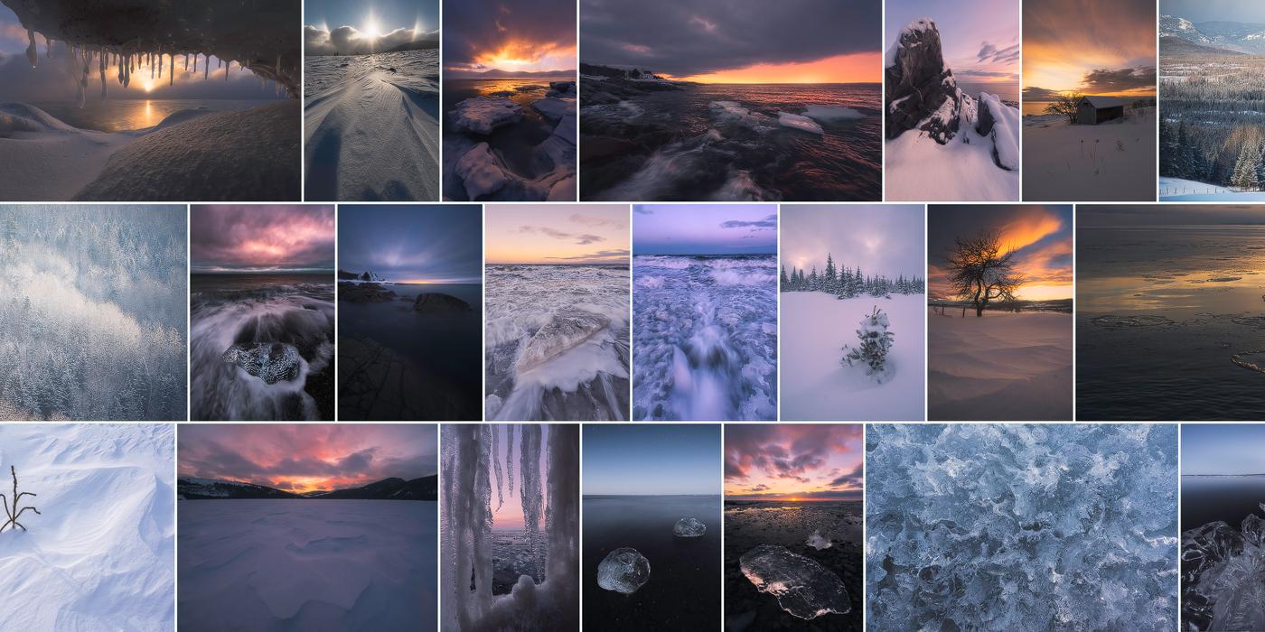 Les paysages glacés de Charlevoix : un retour sur l'hiver 2017-2018