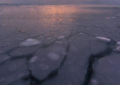La formation des glaces