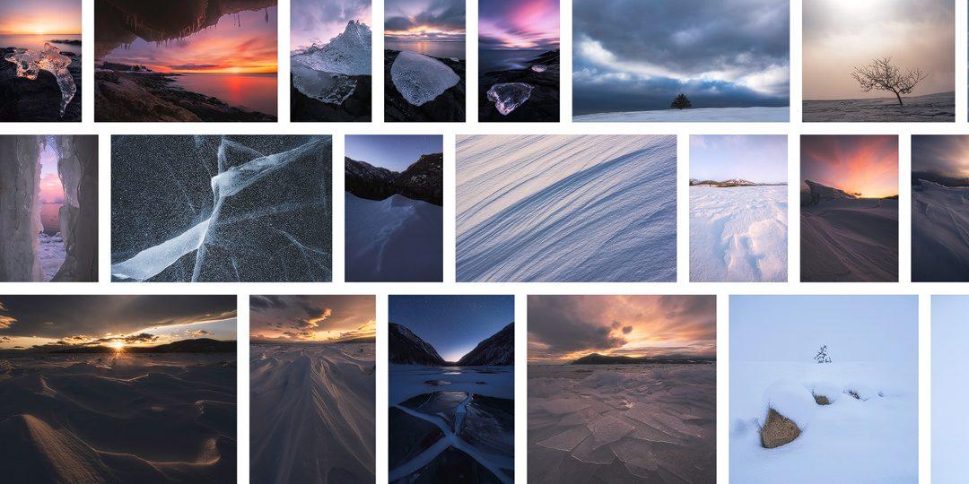 Les paysages glacés de Charlevoix : un retour sur l'hiver 2018-2019