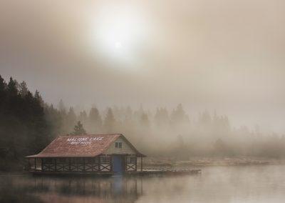 Une brume envahissante