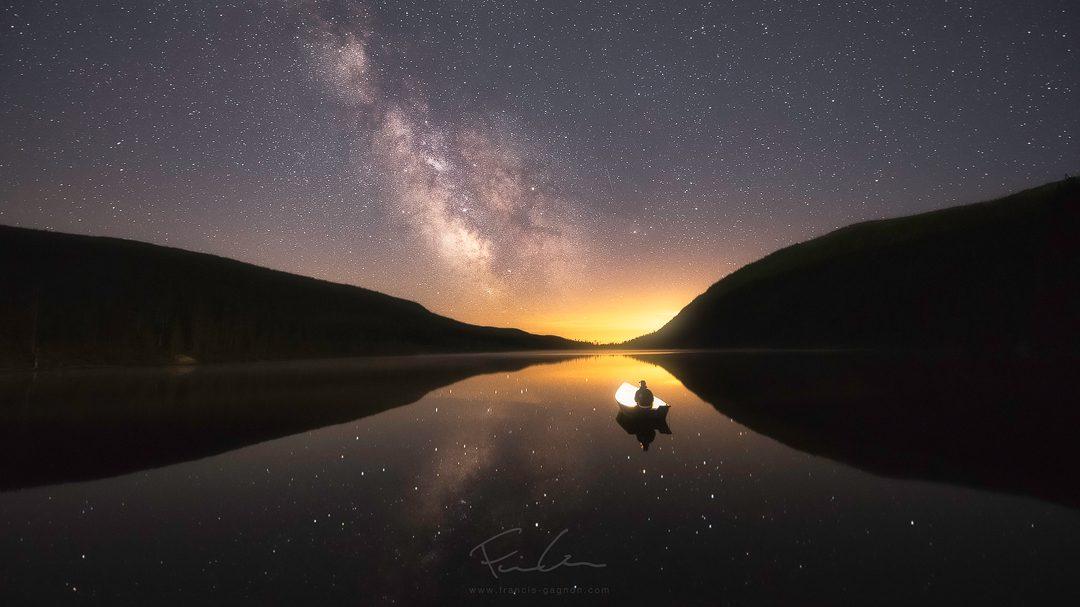 Les paramètres de base pour photographier un ciel étoilé