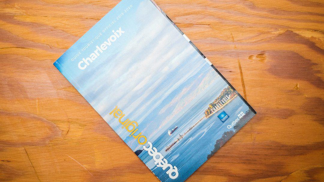 Mes photos dans le Guide touristique officiel 2019-2020 de Tourisme Charlevoix