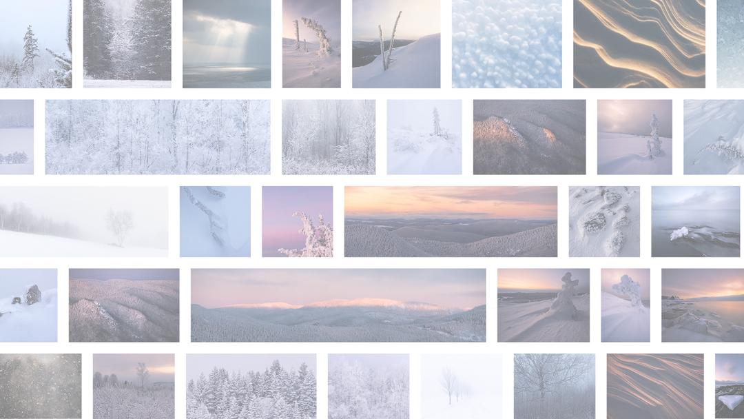La douceur de l'hiver charlevoisien