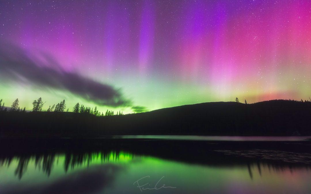 Quelques notions pour photographier les aurores boréales